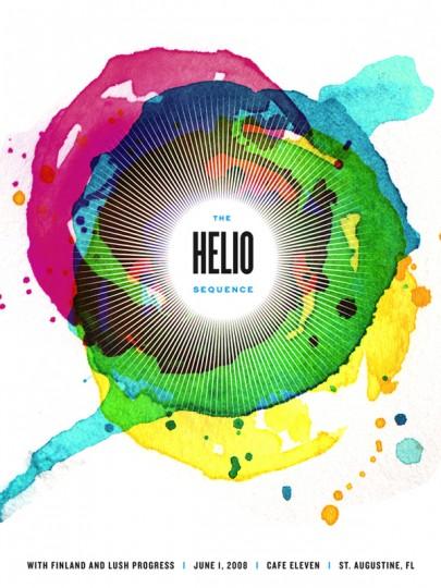 46 Contoh Poster Desain Inspiratif - Poster-inspiratif-tentang-Helio-Sequence-oleh-Karen-Kurycki