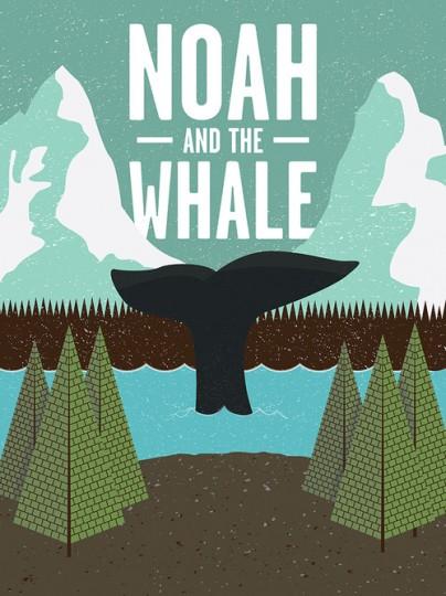 46 Contoh Poster Desain Inspiratif - Poster-inspiratif-tentang-Noah-and-the-Whale-oleh-Matt-Jones