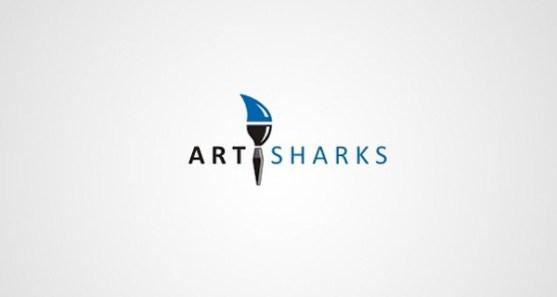 48 Contoh Logo dengan Simbol Tersembunyi - Art-Sharks-Logo