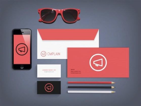 24 Contoh Desain Amplop Kreatif - Contoh-Desain-Amplop-CMPLAIN-Branding