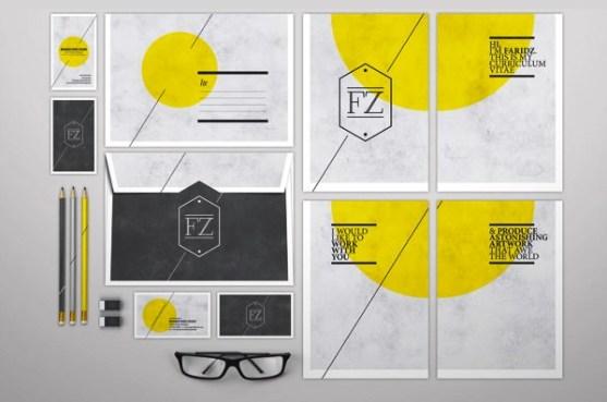 24 Contoh Desain Amplop Kreatif - Contoh-Desain-Amplop-CV-Self-Branding-1