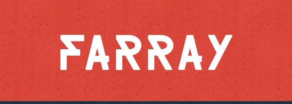 30 Koleksi Font Terbaik untuk Desain - Farray Font Free Download