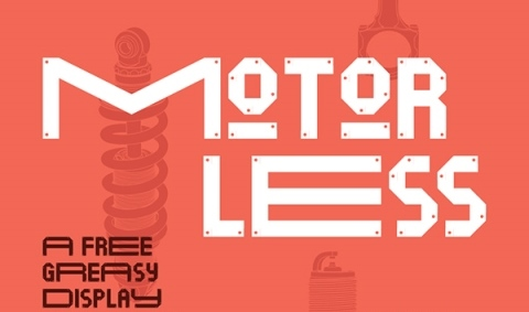 30 Koleksi Font Terbaik untuk Desain - Motorless Free Font
