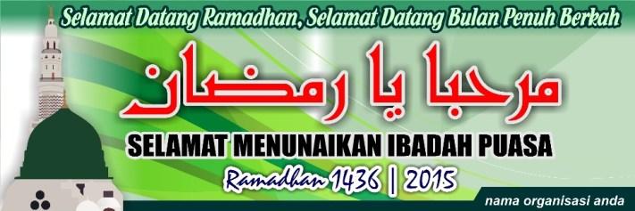 Desain Banner Spanduk Ramadhan