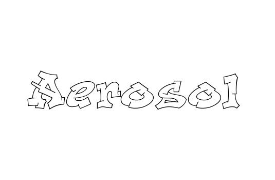 43 Font Graffiti Free Download - Aerosol Grafiti Font
