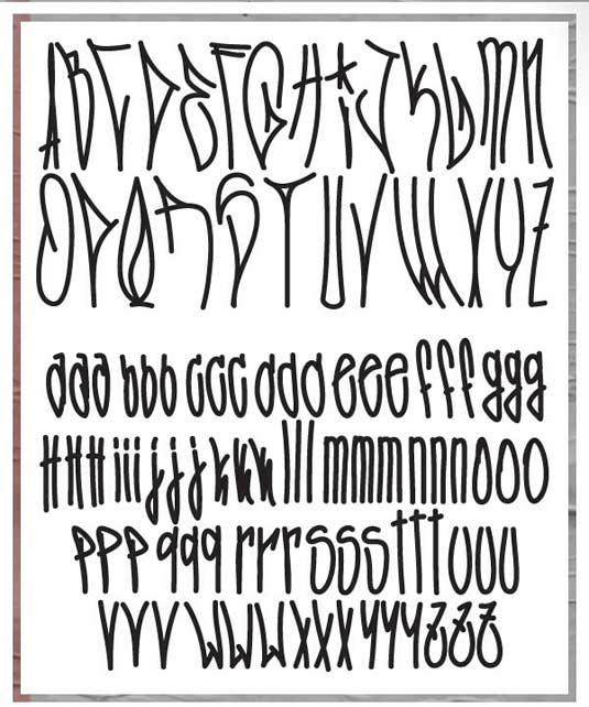 43 Font Graffiti Free Download - Fozzie Got A Posse Typeface Free Grafiti Font