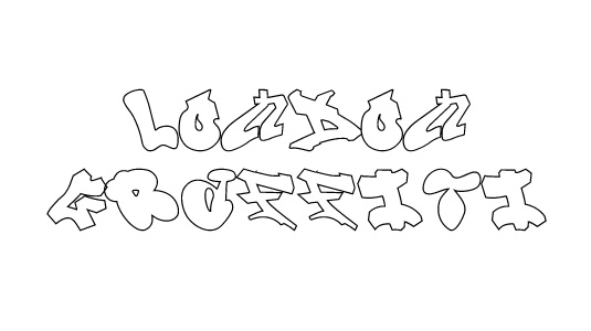 43 Font Graffiti Free Download - London Graffiti Alphabet Grafiti Font