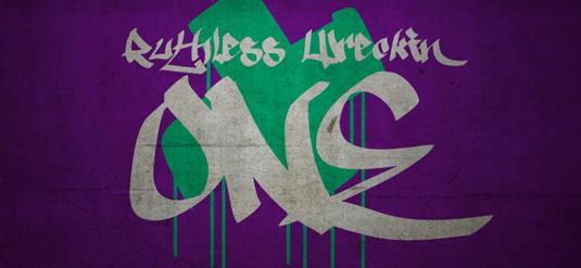 43 Font Graffiti Free Download - Ruthless One Grafiti Font