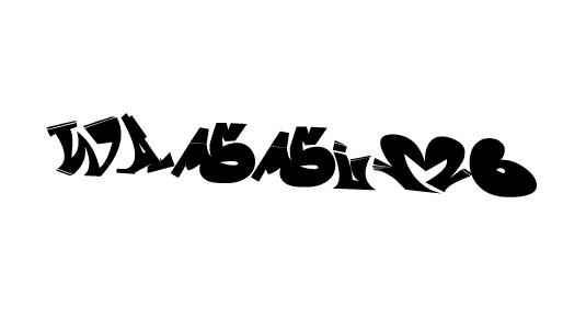 43 Font Graffiti Free Download - Wassimo Graffiti Font