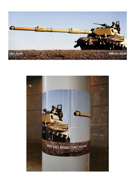 Iklan Layanan Masyarakat Paling Mengena - Kampanye-anti-perang-Iraq