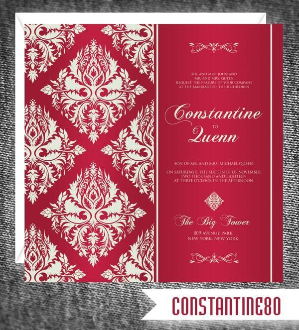37 Contoh Konsep Undangan Pernikahan Indonesia - Konsep-Undangan-Pernikahan-Indonesia-5-Wedding-Invitation-7x7-ver06-5