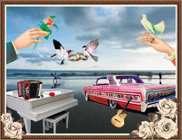 37 Contoh Konsep Undangan Pernikahan Indonesia - Konsep-Undangan-Pernikahan-Indonesia-Gypsy-Wedding-invitation