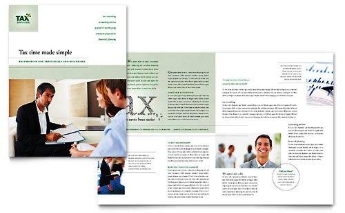 36 Contoh Desain Pamflet dan Brosur Jasa Keuangan - Brochure & Pamphlet Design-Jasa-Ahli-Konsultan-Pajak-dan-Akuntan
