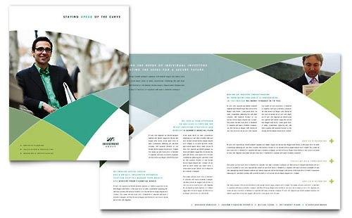 36 Contoh Desain Pamflet dan Brosur Jasa Keuangan - Brochure & Pamphlet Design-Penasihat-Keuangan
