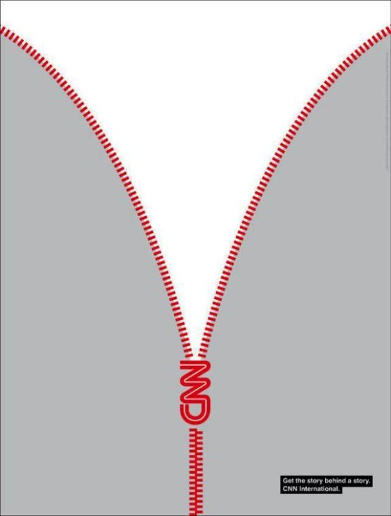 Contoh Format Iklan Advertising dengan Desain Minimalis - Contoh-05-Desain-Iklan-Minimalis-CNN-International