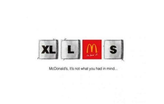 Contoh Format Iklan Advertising dengan Desain Minimalis - Contoh-19-Desain-Iklan-Minimalis-McDonald's-Medium