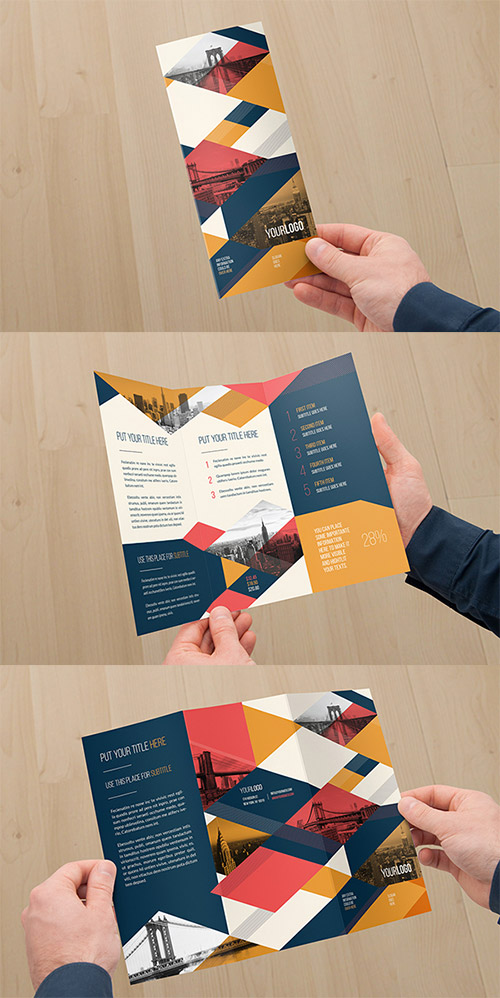 Vintage Trifold Brochure Free Download
