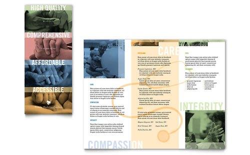 Desain Brosur Pamflet Kesehatan dan Medis - Contoh-Pamflet-Brosur-Dokter-Keluarga