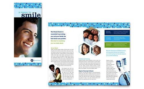 Desain Brosur Pamflet Kesehatan dan Medis - Contoh-Pamflet-Brosur-Kesehatan-Gigi2