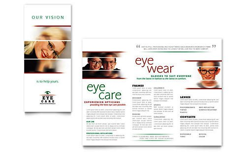 Desain Brosur Pamflet Kesehatan dan Medis - Contoh-Pamflet-Brosur-Kesehatan-Mata-dan-Optik