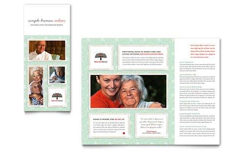 Desain Brosur Pamflet Kesehatan dan Medis - Contoh-Pamflet-Brosur-Pelayanan-Kesehatan-Lansia