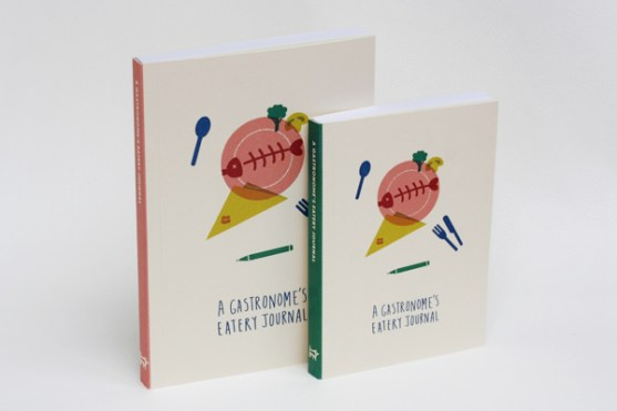 19 Contoh Gambar Desain Buku Notes - Desain-Notes-Book-Stationery-Range-for-Gastronomes