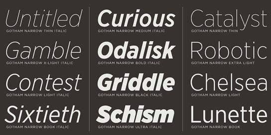Font Tipografi Berkualitas Untuk Desain - Gotham-Narrow-Font-bagus-untuk-desain-korporasi-bisnis