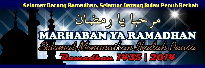 7 Banner Spanduk Ramadhan 2014 1435 Desain Cantik