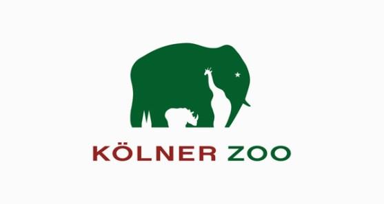 48 Contoh Logo dengan Simbol Tersembunyi - Kolner-Zoo-Logo