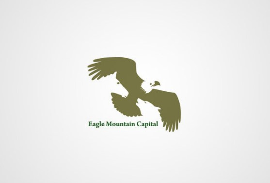 Logo dengan Desain Spasi Negatif - Logo-Eagle-Mountain-Capital