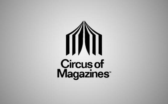 Logo dengan Desain Spasi Negatif - Logo-Majalah-Circus