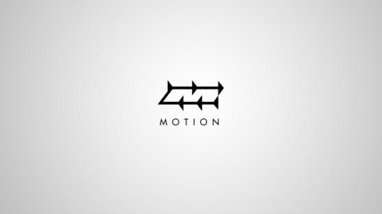 Logo dengan Desain Spasi Negatif - Logo-Motion