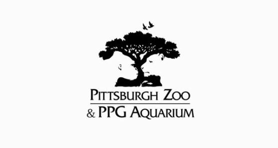 48 Contoh Logo dengan Simbol Tersembunyi - Pittsburgh-Zoo-and-PPG-Aquarium-Logo