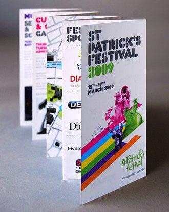 Contoh Desain Brosur untuk Corporate Identity - St-Patricks-Festival-Brochure-didesain-oleh-sortdesign-Contoh-Brosur-untuk-Corporate-Identity