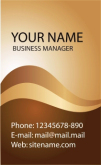 Template Kartu Nama Vector Gratis Download - template-kartu-nama-24