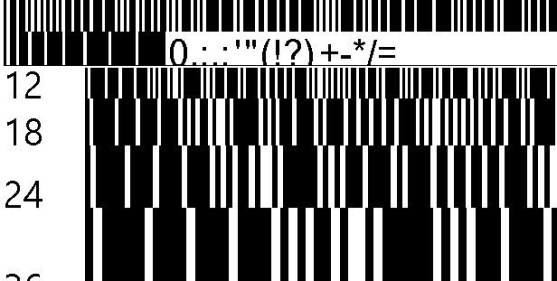 30 Best Font Barcode Download Free - Barkode Regular (TrueType)