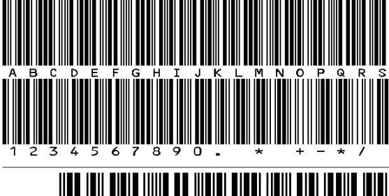 30 Best Font Barcode Download Free - IDAHC39MCode39Barcode (TrueType)