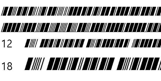 30 Best Font Barcode Download Free - Morse Tech (OpenType)