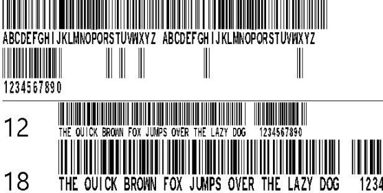 Best Font Barcode Download Free | 30 Typhographic Bar Styles