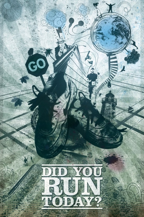 Desain Poster Motivasi yang Unik