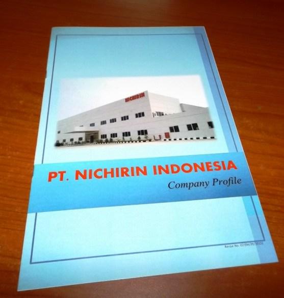 Contoh Company Profile Printed Hardcopy