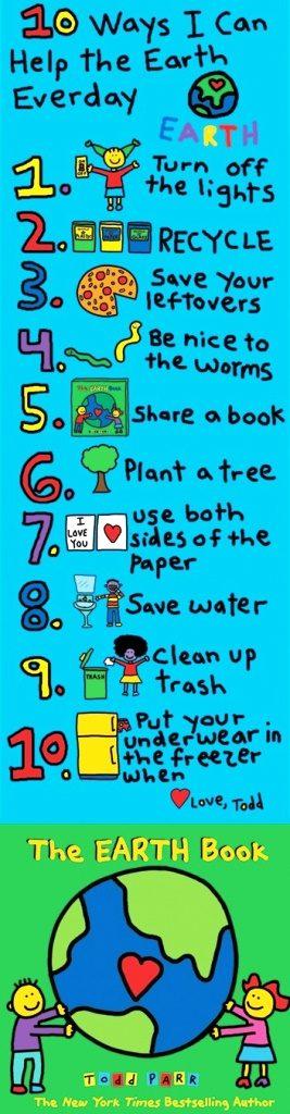 33 Contoh Poster Adiwiyata Go Green Lingkungan Hidup Hijau - 10 ways I can help the earth