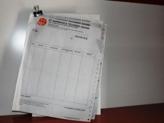 Continuous Form Surat Jalan Invoice dan Slip Gaji - Continuous Form Paper Percetakan Ayu DSCF2353