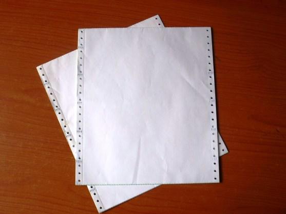 Continuous Form Surat Jalan Invoice dan Slip Gaji - Continuous Form Paper Percetakan Ayu DSCF2367