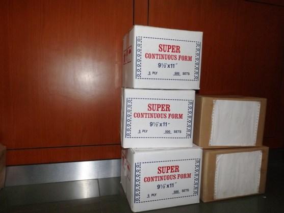 Continuous Form Surat Jalan Invoice dan Slip Gaji - Continuous Form Paper Percetakan Ayu DSCF2372