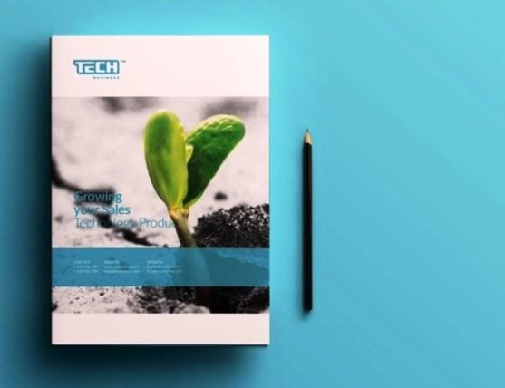 Membuat Desain Brosur untuk Usaha - Corporate Brochure