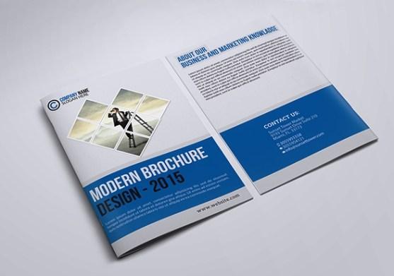 Cara Membuat Desain Brosur yang Menarik - Desain Brosur Modern
