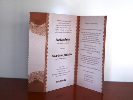 Desain Undangan Pernikahan Indonesia Katalog Byar Percetakan Karawang