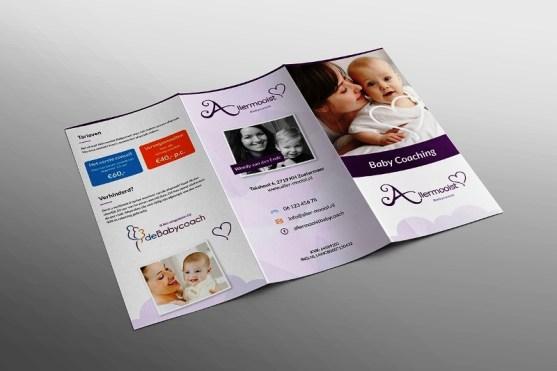 Membuat Desain Brosur untuk Usaha - Folder-Businesscard-Allermooist