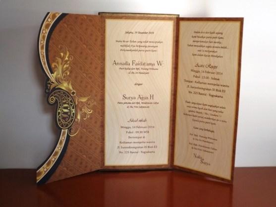 Bisnis Percetakan Desain Undangan - Katalog Undangan Pernikahan President Card Album Seri 3 -DSCF2097